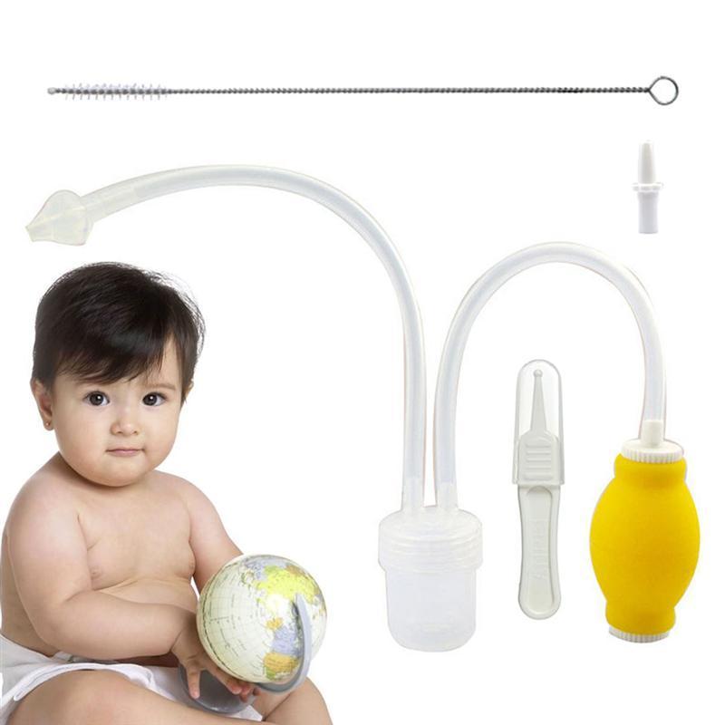 Nasensauger Safe Hygienische Tragbare Nasensauger Snot Sucker Nase Reiniger Reinigungswerkzeug Für Neugeborenes Baby