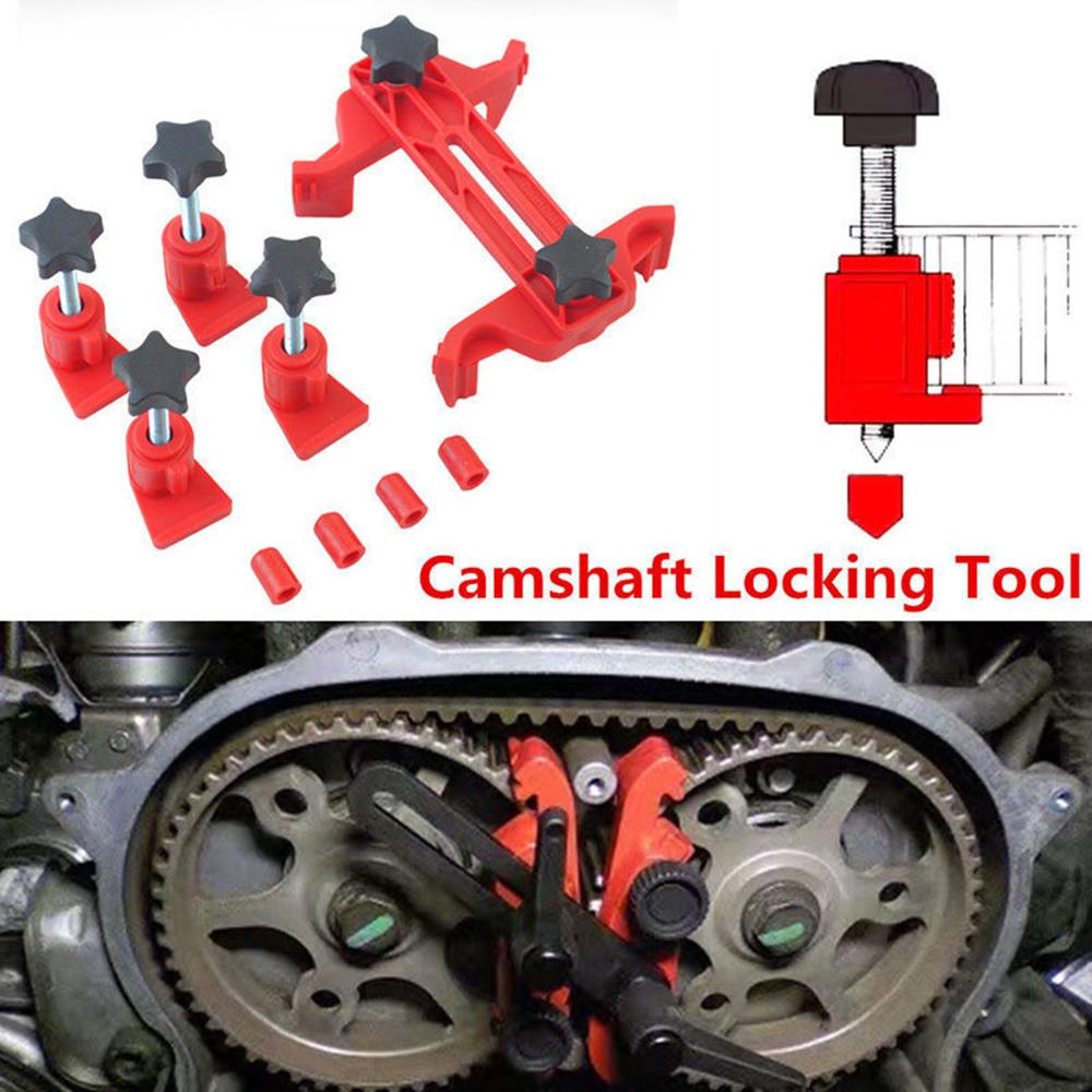 5 Pcs Universal Cam Camshaft Lock Holder Car Engine Cam Timing Locking Tool Set Automotive Timing Belt Disassembly Tools Car Kit