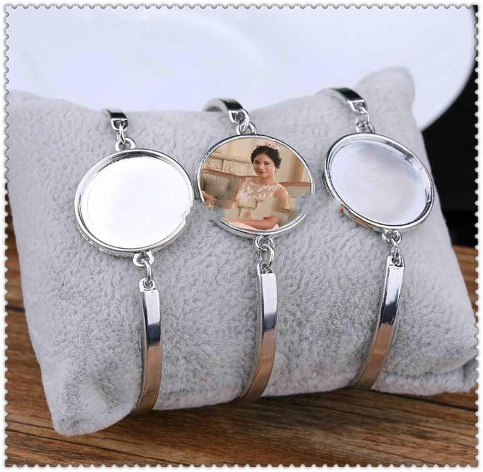 Sublimation Leere Armbänder für Frauen Mode Hot Transfer Druck Armband Schmuck Verbrauchsmaterial NEUE ARRVIAL