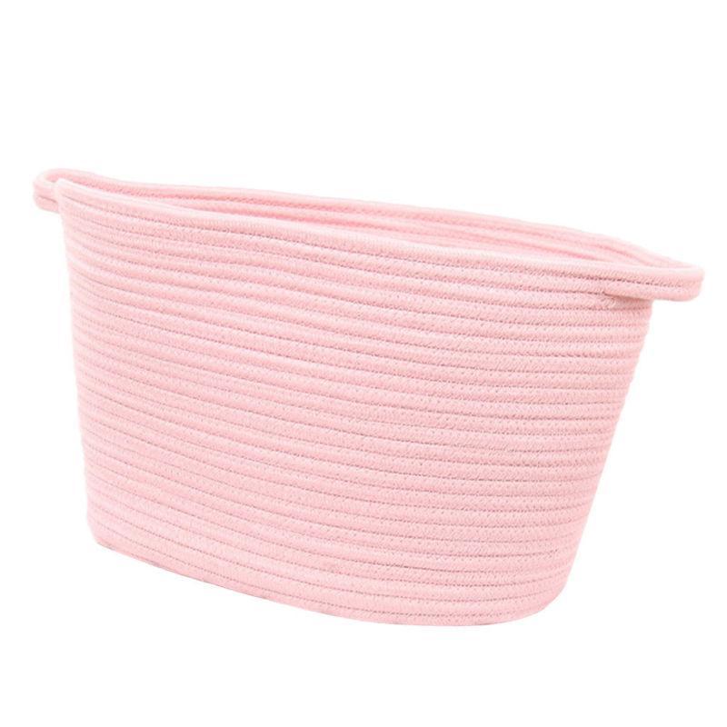 Large Capacity Kids Baby Room Toys Storage Canvas Laundry Basket Bag W/ Handle