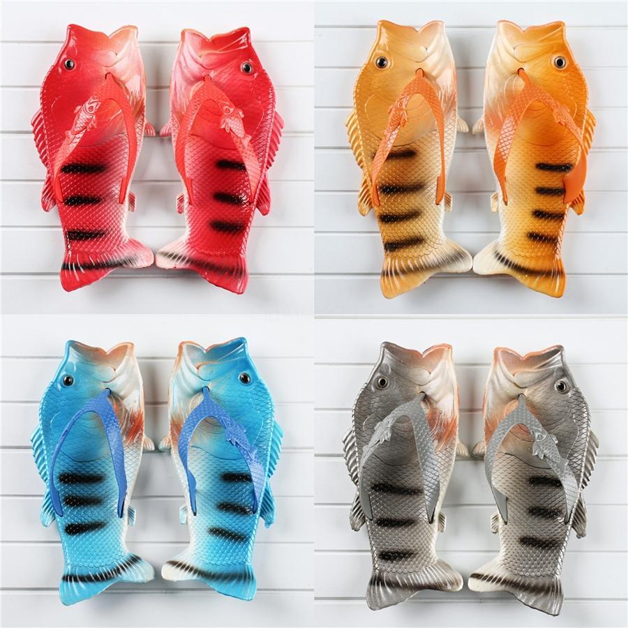 Neue Frauen-Kreuz-Bügel-Verband-Fisch-Slipper Mode-Schlange-Muster-Strand im Freien Frauen-Sommer-flachen Unterseite Fisch Slipper # 40 # 958
