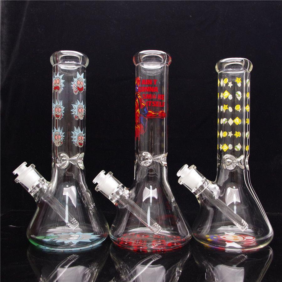 11.5in Beaker Beaker Joint Glass Bong Waterpipe DaBrig com 1 Downstem Clear e 1 CLear Bowl