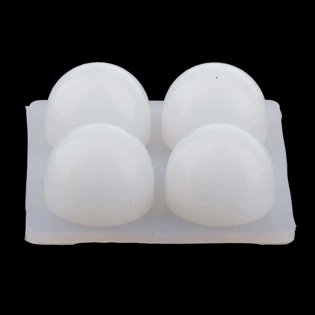 3D Skull Flexible Silicone Ice Cube Mold Tray, Makes Four Giant Skulls, Square Molds, Reusable,Perfect For The Whisky Drinker