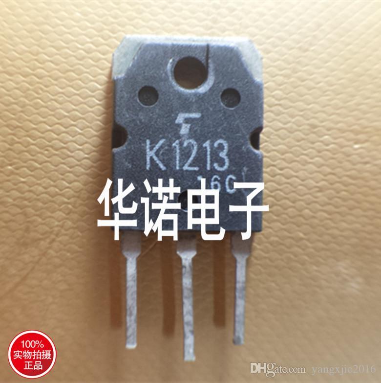 Usado Original Transistor de Campo-Efeito 2SK1213 K1213 MOSFET TO-247 TO-3P Teste Ok
