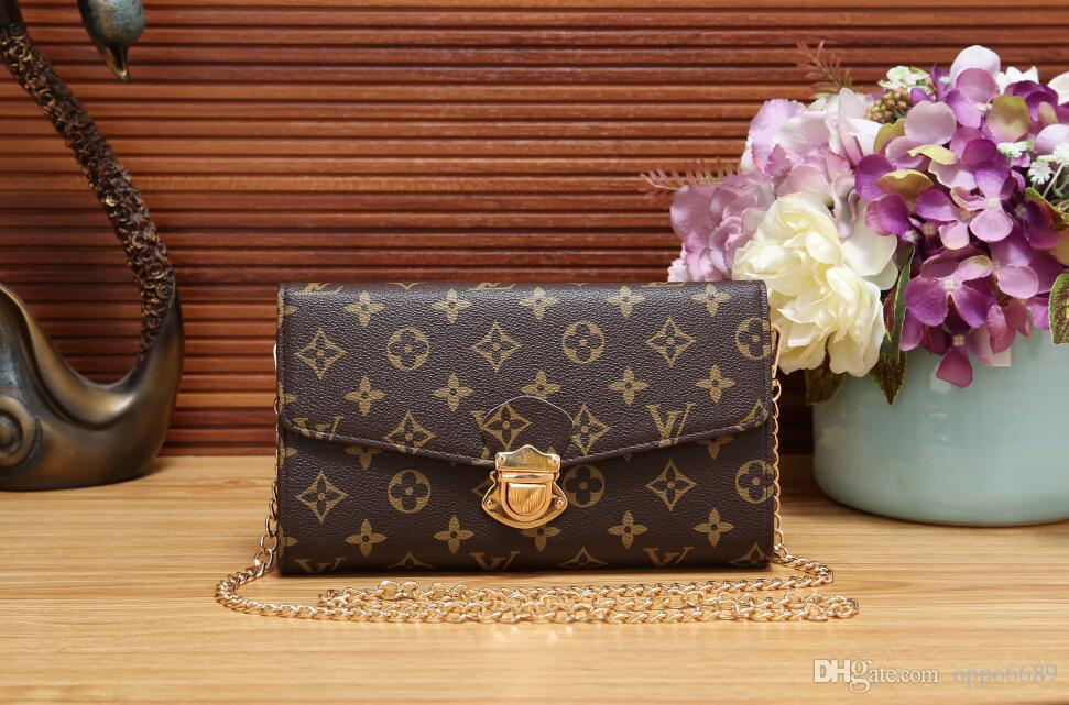 2019 Tasarım kadın Çanta Bayanlar Kılıf Debriyaj Çanta Yüksek Kalite Klasik Omuz Çantaları Moda Deri El Çantaları Karışık sipariş çanta B016