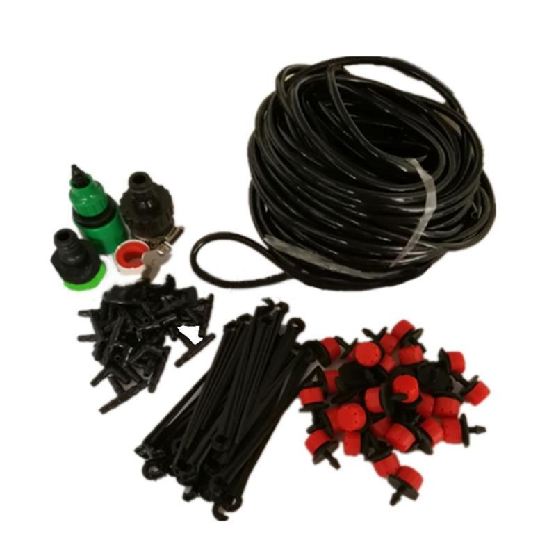 25M 30 Drippers DIY Drip Irrigation System Automatic Watering Sprinklers Garden Hose Micro Drip for Plants Flower Waterer