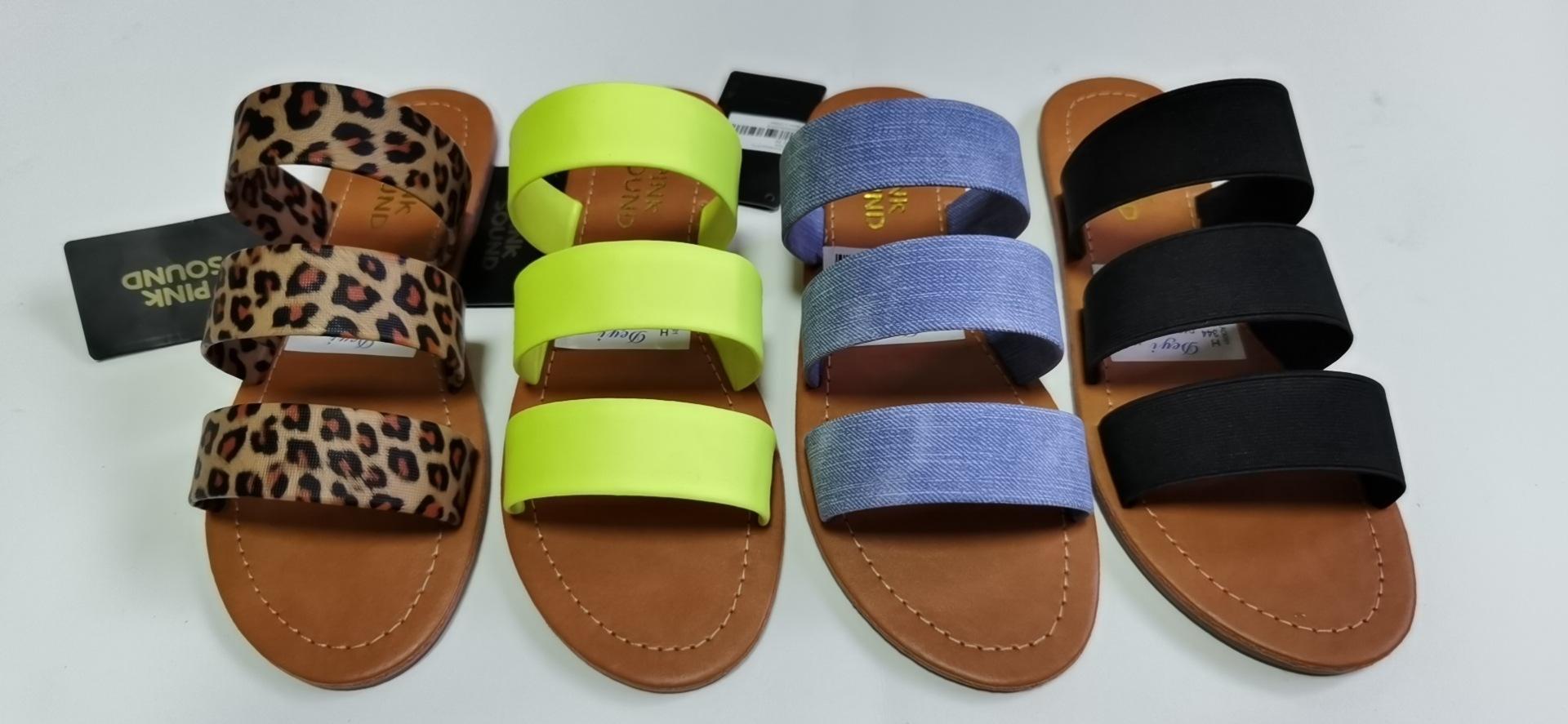 flip 2020 sandalias zapatos de las mujeres slipers indoor diseñador de zapatillas de casa divertida manera de las señoras playa fracasos de las mujeres mocasines
