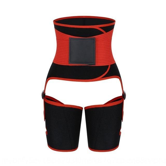 yD8OT Sıcak Satış üç-bir-arada kalça kaldırma kayışı ter kamaştırıcı vücut geliştirici plastik kemer spor ayarlanabilen tek parça Egzersiz spor egzersiz f