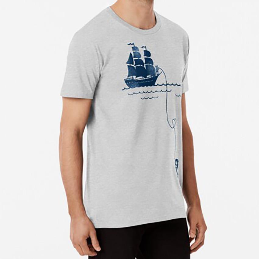 2020 New Long Distance Love male short-sleeved T-shirt 7 colors simple super fire new diy simple men's /women's T-shirt Couple Tee