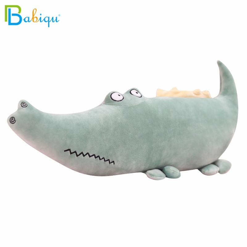 55-90cm Kawaii Crocodile Plush Pillow Soft Stuffed Animal Toy Cartoon Plush Dolls for Kids Girl Gift Lovely Cushion Home Decor