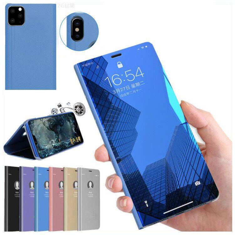 Зеркало крепление телефона чехол лоскут кобура для iphone 11 pro max задняя крышка для Samsung Note10 plus S10 plus S9 HuaWei P30 Mate20 pro