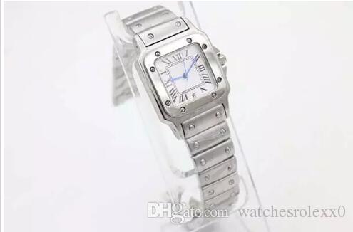 Montre de luxe pour dames Quartz en acier inoxydable montre-bracelet pour femmes 071 livraison gratuite dame montres Bracelet de montre en argent cadeaux de Noël shippi gratuit