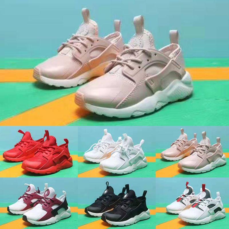 Nike air huarache 2019 alta qualità 27s 72s per bambini scarpe da ginnastica per bambini ragazzi scarpe da basket bambino Huarache leggenda blu scarpe da ginnastica firmate