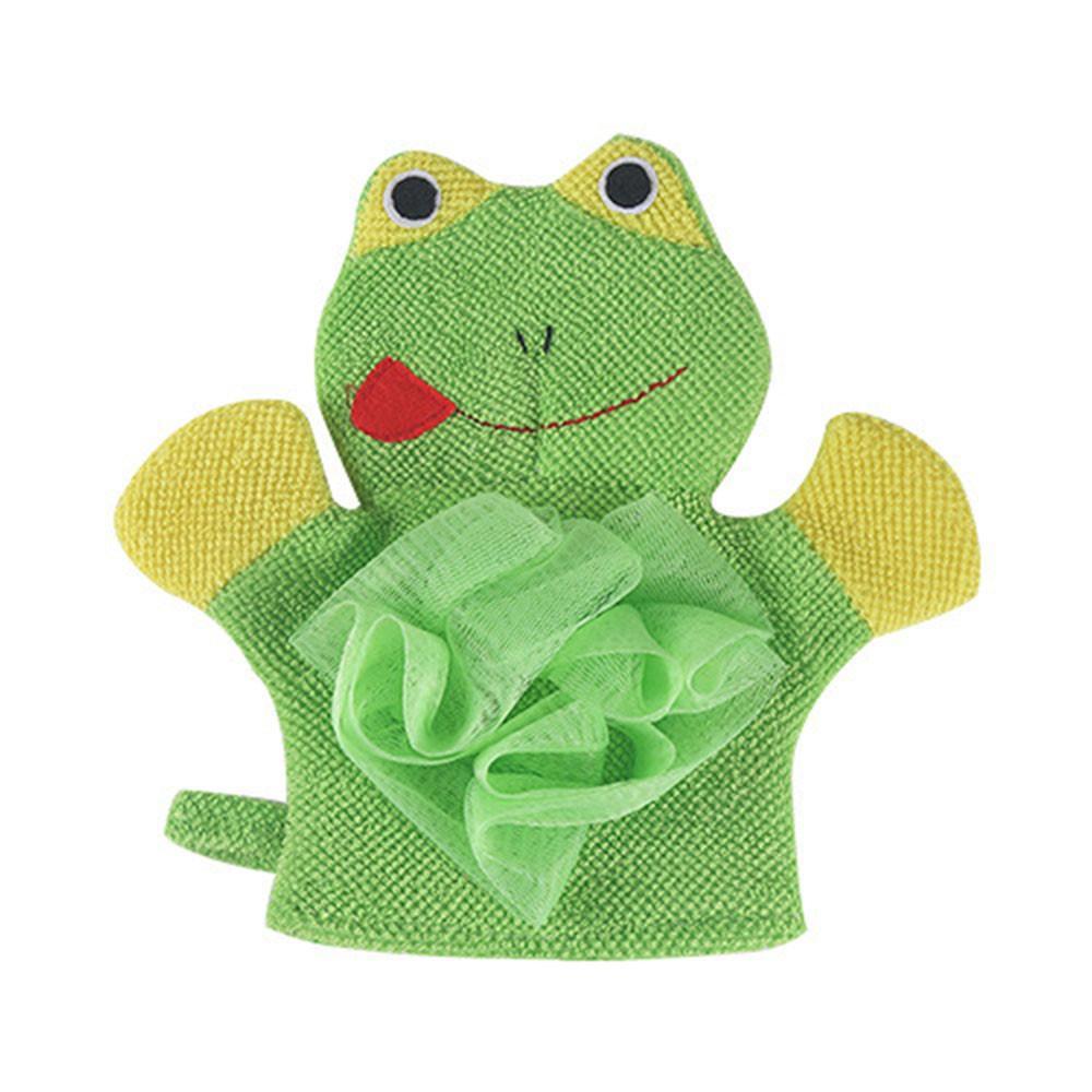 1 Pc Composto de Algodão Crianças Banho Macio Esfregar Luvas de Chuveiro Body Wash Puff Malha Net Bola de Banho Uso Diário de Abastecimento de Abastecimento 23Jun7 C18122501