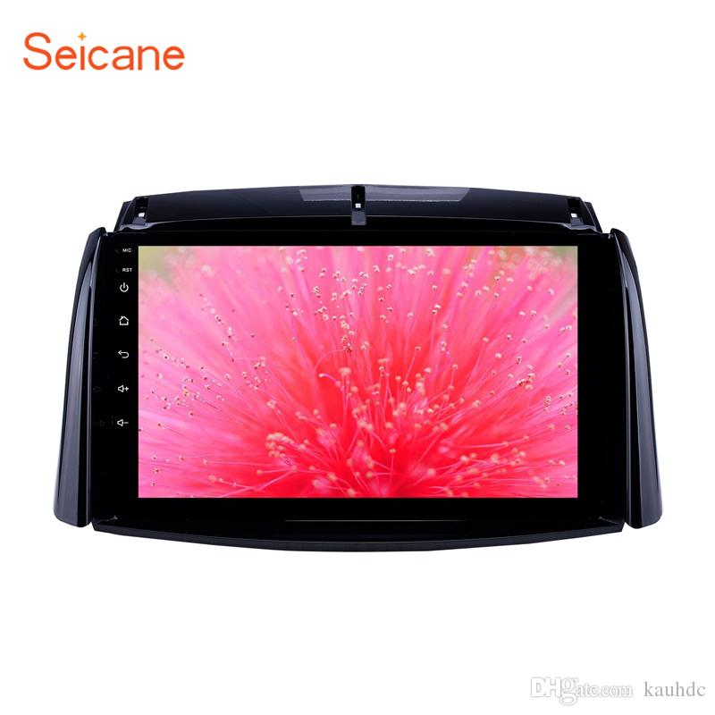 9 inch Android 9.0 GPS Navigation Car Dvd Radio for 2009-2016 Renault Koleos with HD Touchscreen Carplay AUX Bluetooth support 1080P