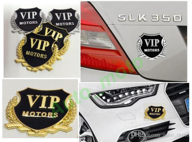 3D Metal VIP Auto Car Motorcycle Sticker Badge Decal Motorcycle Stickers Emblem