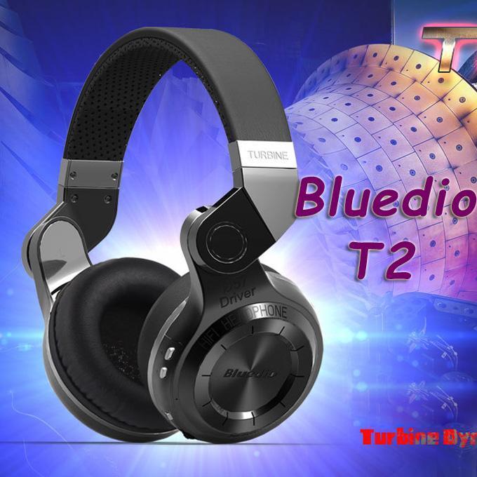 마이크 높은베이스 품질과 소음 새로운 100 % 원래 패션 Bluedio T2 터보 무선 블루투스 4.1 스테레오 헤드폰 헤드셋