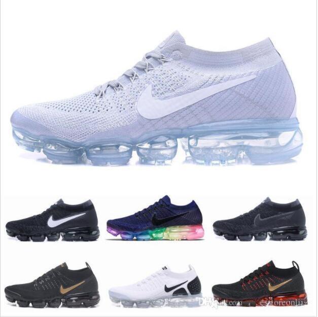 Aire 2020 2,0 1,0 Maxes Zapatos para mujer para hombre de funcionamiento de los entrenadores deportivos de atletismoVapormax Negro al aire libre las zapatillas de deporte que camina con zapatos en línea