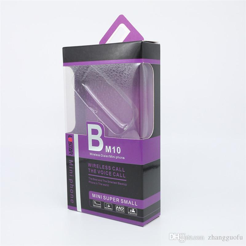 L8STAR BM10 مصغرة الهاتف المحمول سوبر الصغيرة مصغرة 2G الهاتف المحمول ماجيك صوت سماعات بلوتوث لاسلكية سماعة Gtstar