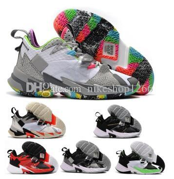 Jumpman Why Not Zer 0.3 Mens Basketball Shoes Russell Westbrook Zer0.3 Noise The Family Heartbeat Yellow 2020 New Arrival Tennis Sneakers