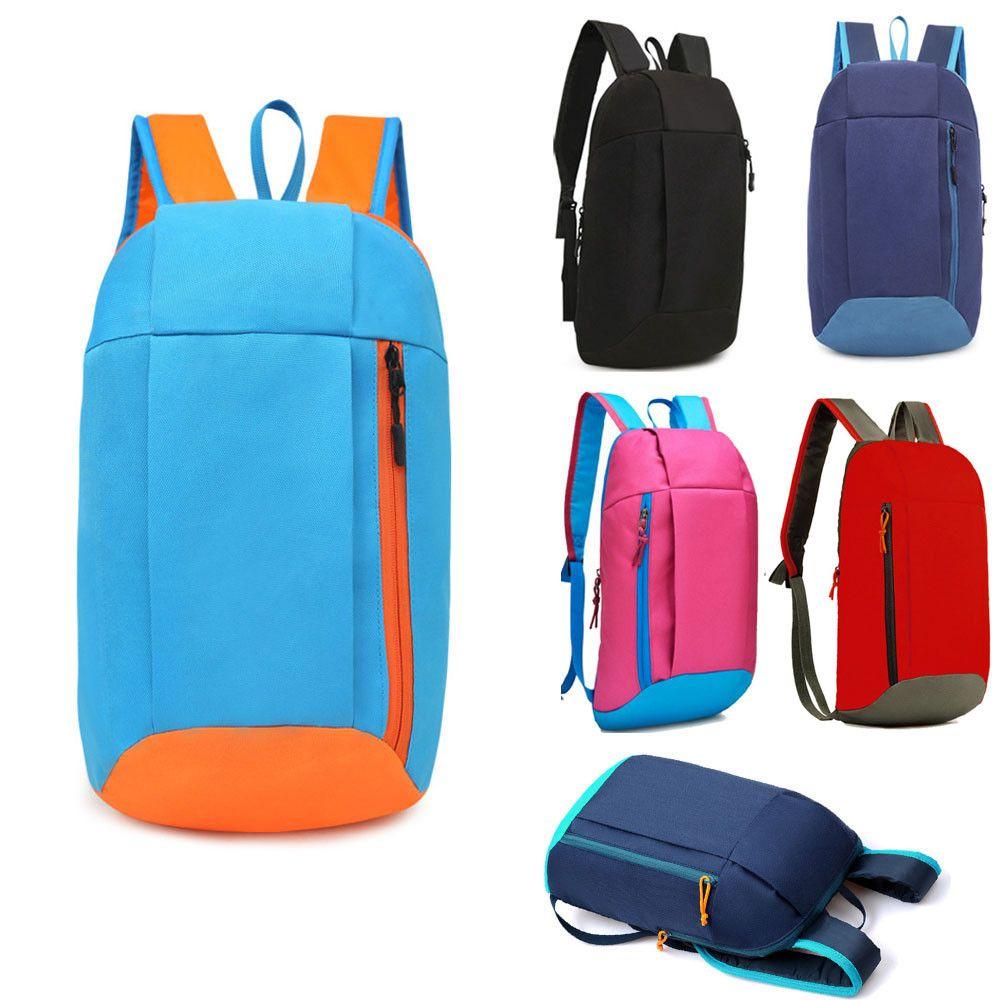 2019 sacos Unisex Sports Backpack Caminhadas Mochila Homens Mulheres escola para meninas adolescentes simples Versátil College Campus Mochila / 3.7