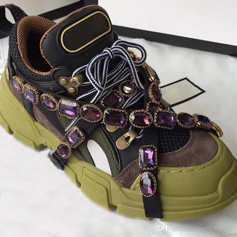 Gucci shoes Nuovo progettista Low-top make Donna Calzature Scarpe stringate superiore scarpe casual