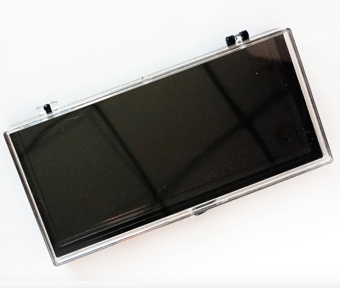 boîte cil boîte de cils de vison 3D faux cils cas oeil emballage cil avec plateau en plastique des boîtes vides
