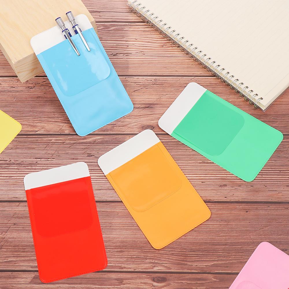 PVC Pocket Protector Leak-Proof Pen Pouch Pencil Case Doctors Nurses Supplies