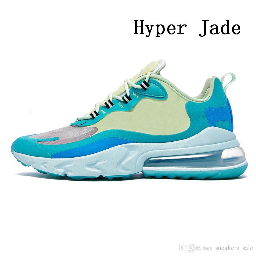 Acheter Nike Air Max 270 React Shoes 2019 Grey Orange Travis Scott X React Mens Running Shoes BAUHAUS Hyper Jade Summit White Electro Green OPTICAL