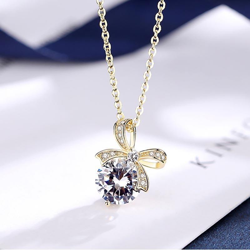 2020 Gifts nuovi arrivi 925 monili delle donne femminile festa delle collane del pendente Arco d'argento Jewlery all'ingrosso
