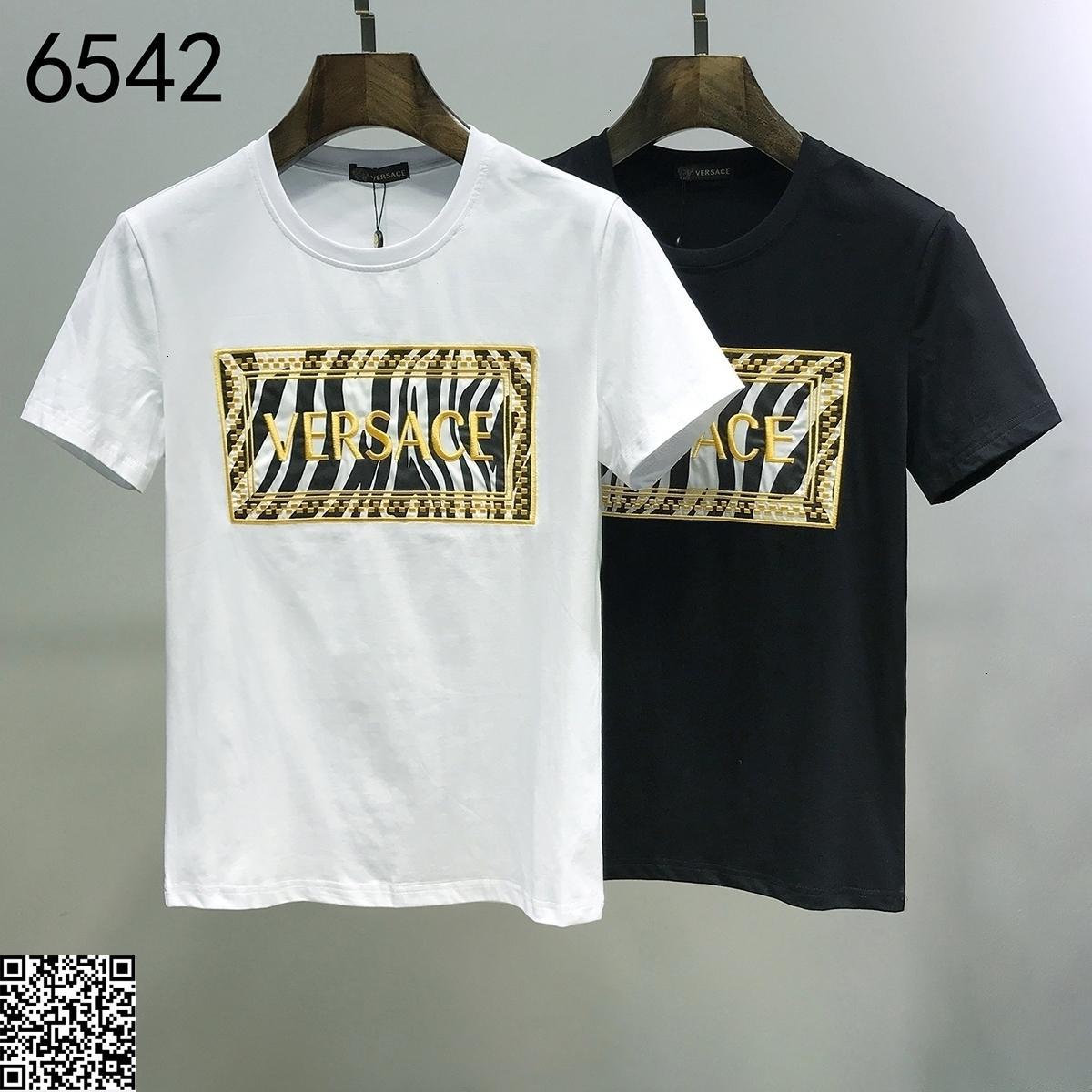 2020 nouveaux T-shirt casual t-shirt mens de qualité supérieure 20191116-tyui5973 # 1232 * 27_6542