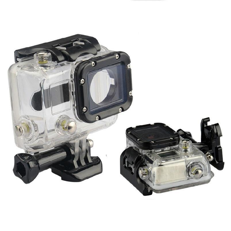Unterwassergehäuse Anti-Fog 35M Tauchen Sport Gehäuse mit Glashalterung für GoPro Hero 3/3 + / 4 Aktive Kamera