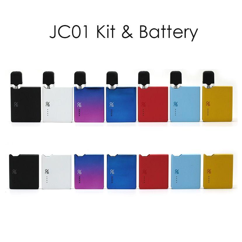 Originale OVNS JC01 Kit E Cigarette Pod Kit 400mAh Battery Box Mod vaporizzatore Con Vuoto Olio Pod e la cartuccia vuota Liquid E