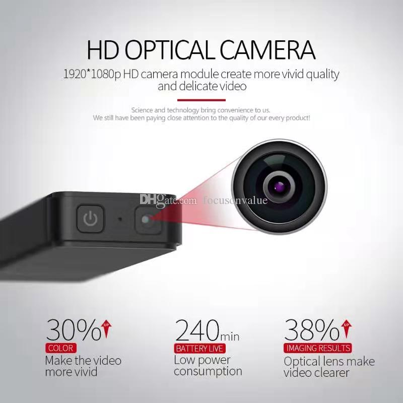 HD mini USB DISK cámara 1080P 30 FPS T-Disk mini DV DVR de detección de movimiento tarjeta de vídeo digital grabadora de apoyo TF de hasta 128 GB