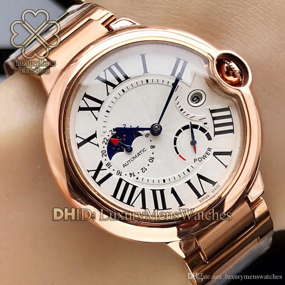 Lujo movimiento de relojes de los hombres W6920037 WSBB0025 W69009Z3 W69006Z2 W2BB0004 W69012Z4 automática de acero inoxidable 316L Relojes de lujo para hombre