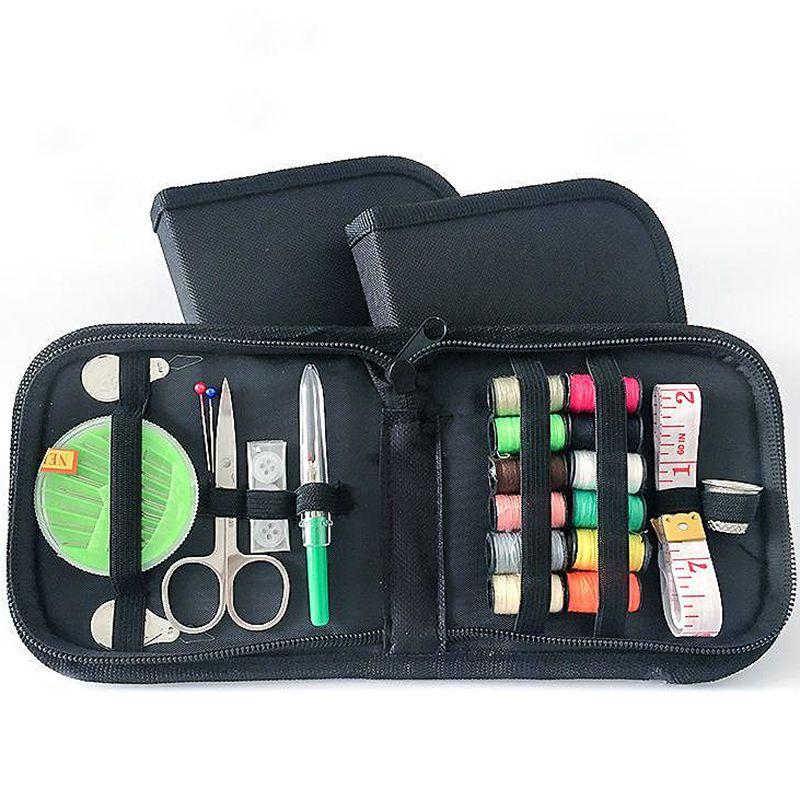 Venda Viajar presentes 45pcs / Set costura agulha de costura Box Quilting Craft Kits Costura Mom Kit de bordado com caso