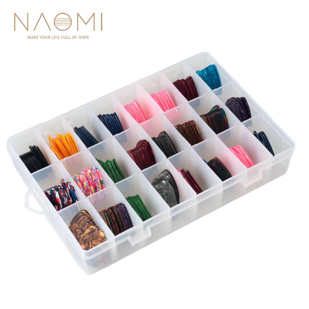 NAOMI يختار 500 قطع غيتار مختارات للغيتار الغيتار الكهربائي الملحقات أجزاء الآلات الموسيقية الملحقات