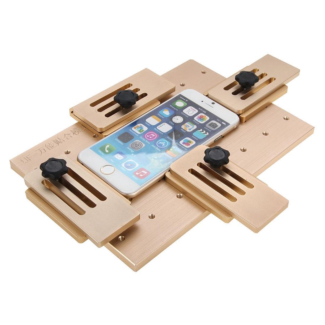 Liga de alumínio Universal Recondicione Mold Posicionamento Laminação Mold Reparação de tela LCD para iPhone, Samsung, HTC, Sony, Lenovo, Huawei, Xiao