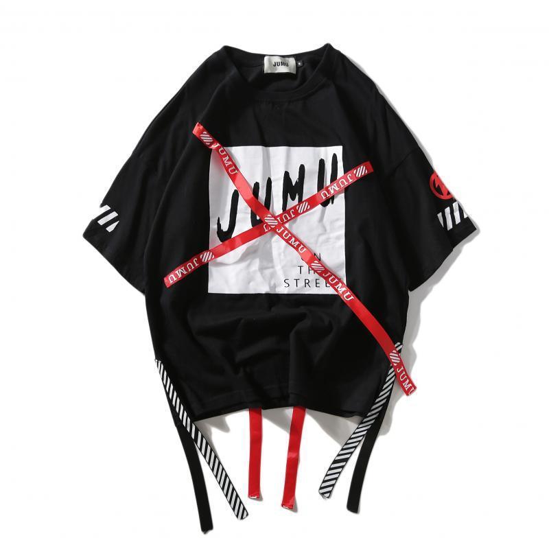 Designer Pullover Paar Pullover Männer und Frauen arbeiten Hip Hop-Band-Fälschung zwei lose Street T-Shirt Asian Plus Size M-2XL
