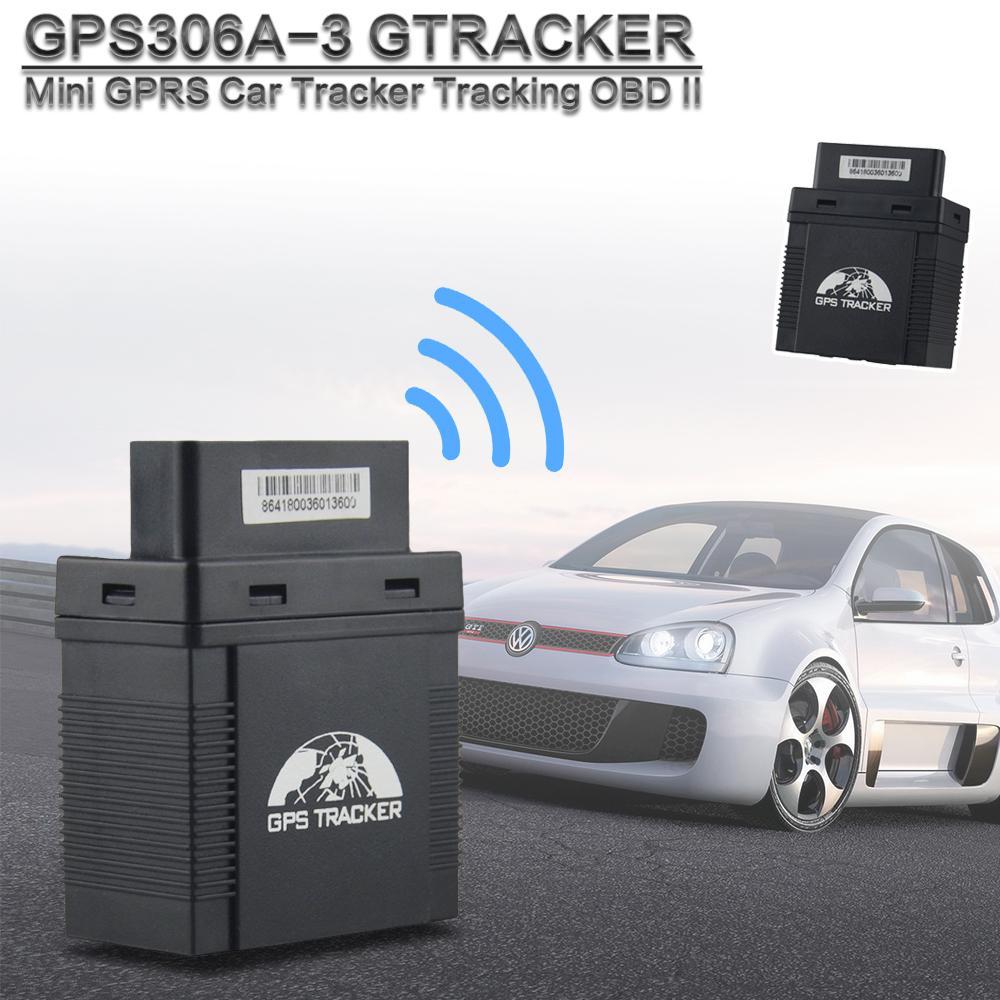 GPS306A-3G OBD GPS 추적기 자동차 보안 GPS 추적 탐지기와 음성 모니터 운동 알람 기능 2G 및 3G 지원