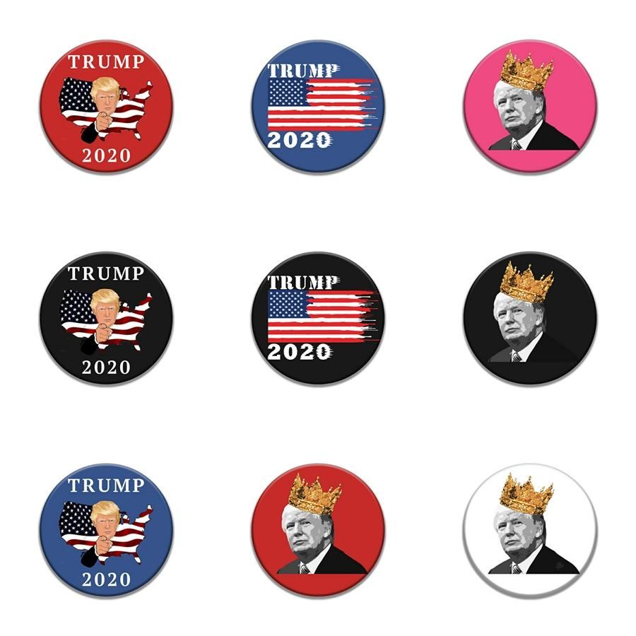 10 1 Pcs Crystal Social Workers Retractable Id Trump Badge Holder For Gift Trump Badge Reels #379
