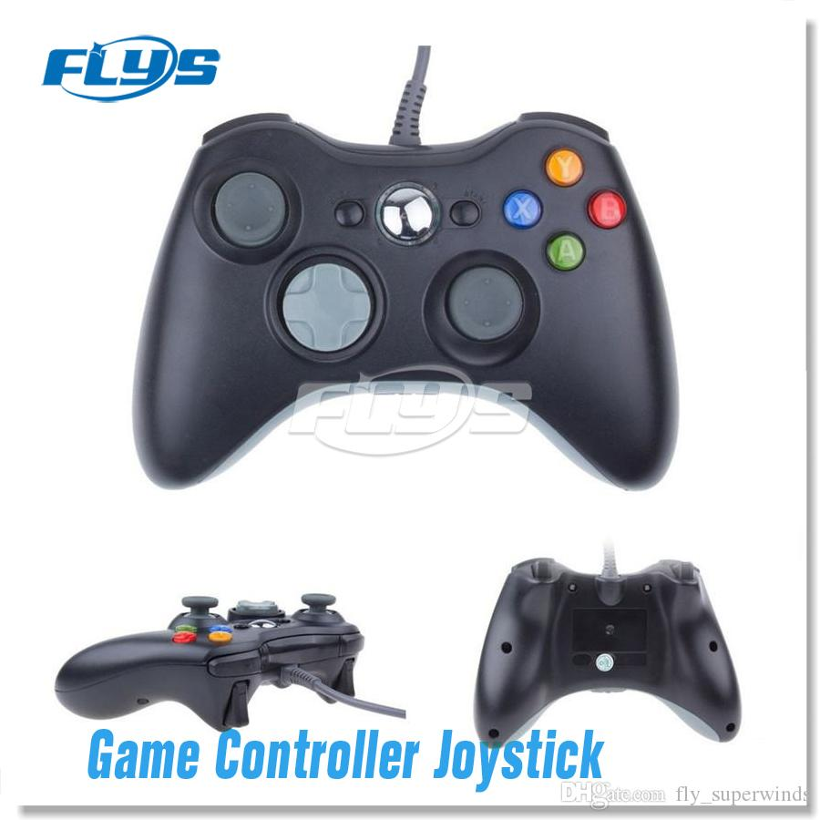 New Gamepad USB Wired Game Controller Gamepad Joypad Joystick For Xbox 360 Slim Accessory PC DHL Free Shipping Fedex