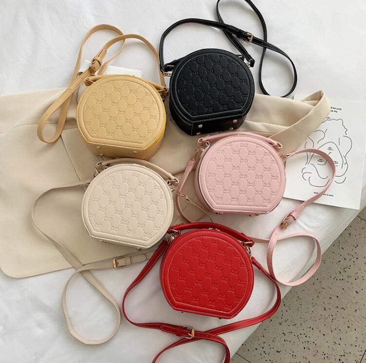 High Quality Fashion Women Round Bag Hot Sale Ladies Handbags Shoulder Bags Wholesale Girls Crossbody Bag
