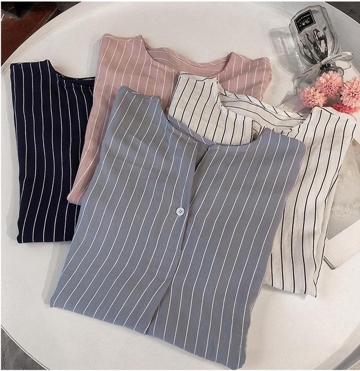 2019 estate donne camicia casual banda signore si slaccia più 4XL Tops camicetta dolce mezza manica Button Camicie Street Wear