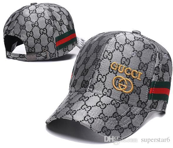 High quality Luxury cap G Fashion Brand ITALY hat snake Snapback Adjustable LuxE cap strapback Baseball Hat Street sunhat golf polo cap 09