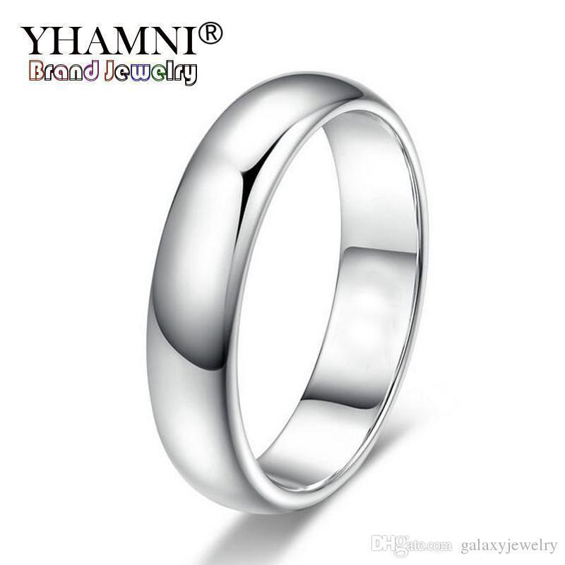 7 8 9 10 11 18K GP White Gold Plated Black Enamel MAN Ring Size