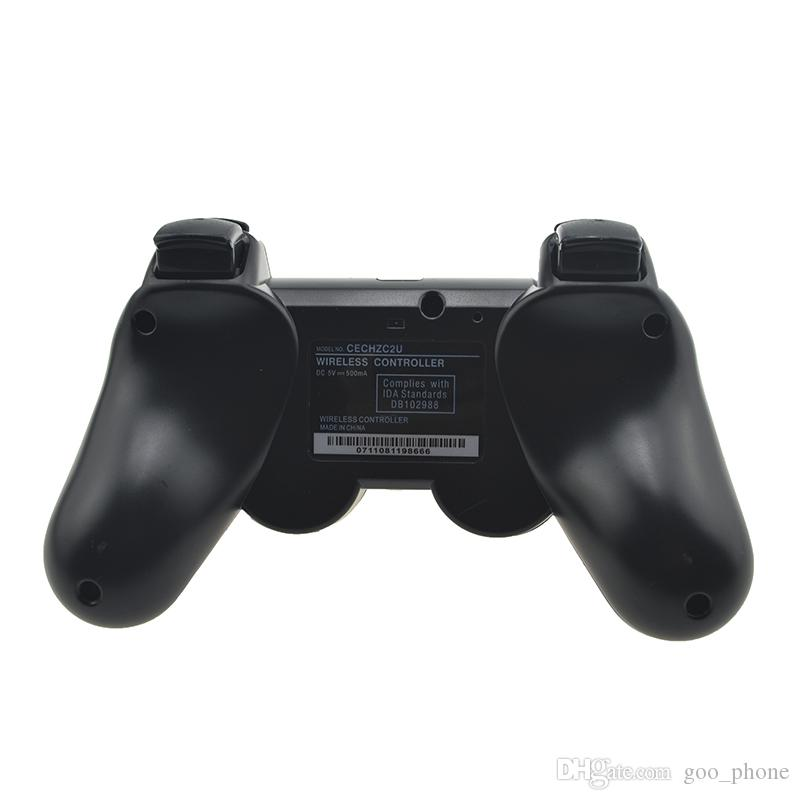 PS3 wireless game console controller Bluetooth gamepads joystick double support handle multifunction for computer pc ps3