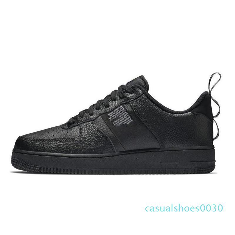 ayakkabı tasarımcısı Yüksek Düşük 1 Bir Üçlü Siyah Beyaz Hemen Turuncu platformu gündelik Chaussures kadın erkek eğitmenler Spor Spor ayakkabılar 36-45 30c