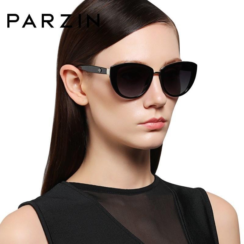 Parzin moda elegante occhiali da sole da donna stile di alta qualità del progettista di marca uv400 occhiali da sole donne polarizzata vendita calda j190529
