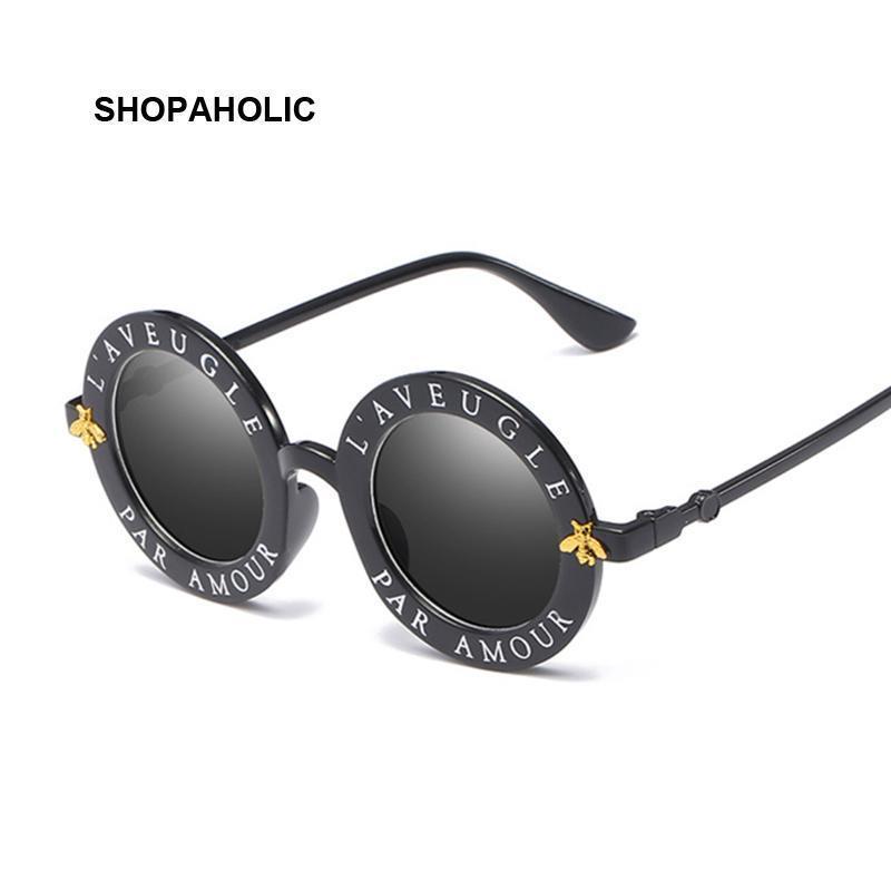 Manera de la vendimia Gafas de sol redondas de mujer de marca diseñador de la vendimia de degradado Sombras Gafas de sol Mujer Uv400 Oculos Femenino Lentes